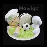Mawigo Windeltorte Windelbaby Fußball