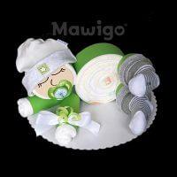 Mawigo Windeltorte Windelbaby grün neutral