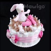 Mawigo Windeltorte Windelkuchen Hase Kuscheltier