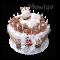 Mawigo Windeltorte Windelkuchen Stofftier