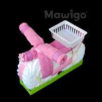 Mawigo Windeltorte Windelmotorrad rosa