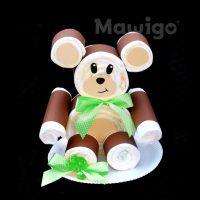 Mawigo Windelbär grüne Schleife