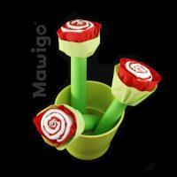 Mawigo Windeltorte Windelblumen rote Rosen