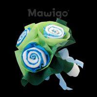 Mawigo Windeltorte Windelblumenstrauß für Jungen