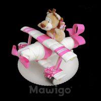Mawigo Windeltorte Windelflugzeug klein Löwe