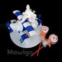 Mawigo Windeltorte Windelflugzeug klein Elefant