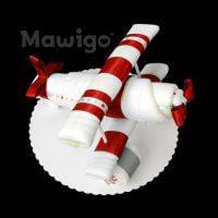 Mawigo Windeltorte rotes Windelflugzeug