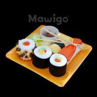 Mawigo Windeltorte Windelsushi orange
