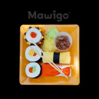 Mawigo Windeltorte Windelsushi oben orange
