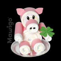 Mawigo Windelschwein rosa Glück