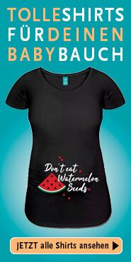 Tolle T-Shirts für deinen Babybauch