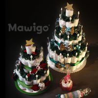 Mawigo Windeltorte Windelweihnachtsbäume