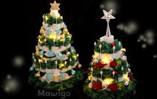 Mawigo Windeltorte Windelweihnachtsbäume LED
